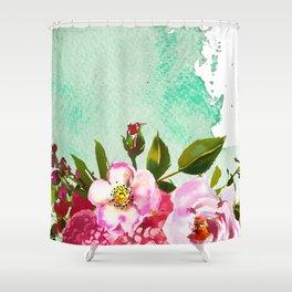 Flowers bouquet 90 Shower Curtain