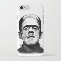 frankenstein iPhone & iPod Cases featuring Frankenstein by Zombie Rust