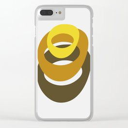The Rings Clear iPhone Case