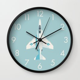 F4 Phantom Jet Fighter Aircraft - Sky Wall Clock