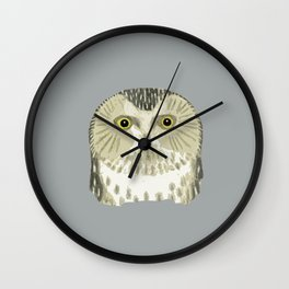 Monsieur Know it all Wall Clock