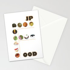 Japanese Food Bubble Zoom Stationery Cards