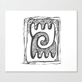 Sheeps, Yin&Yang Canvas Print