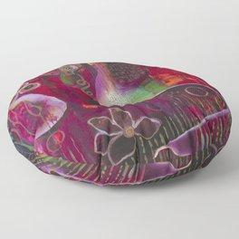 """Surrender"" Original Painting by Flora Bowley Floor Pillow"