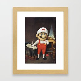 Mario Framed Art Print