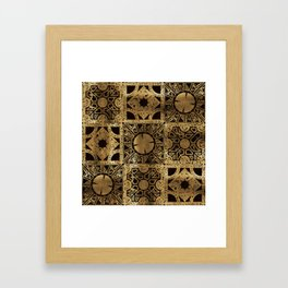 Lament Configuration Spread Framed Art Print