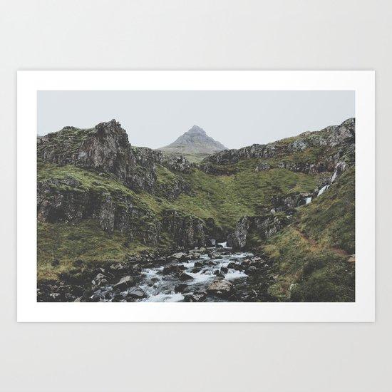 Mjóifjörður, Iceland II Art Print