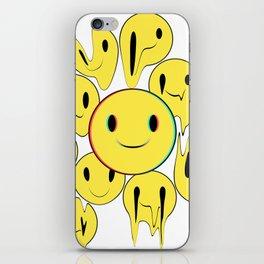 Smiling away iPhone Skin