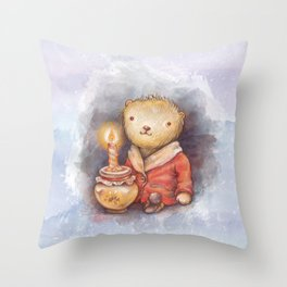 Birthday honey Throw Pillow