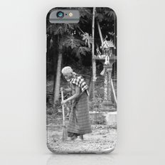 Sweeping near the Spirit Houses iPhone 6s Slim Case