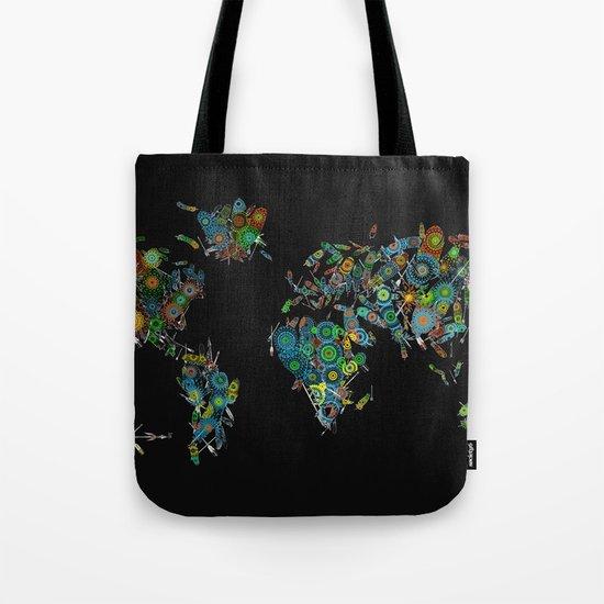world map feathers mandala by bekimart