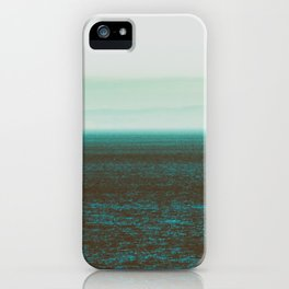 Sea front green iPhone Case