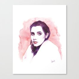 Polly Jean Harvey Canvas Print
