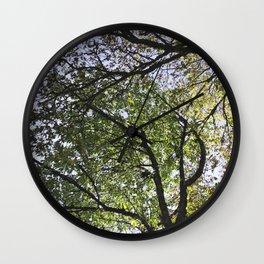 Dancing Trees Wall Clock