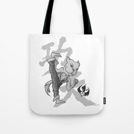 KungFu Zodiac - Dog Tote Bag