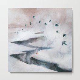 Snow Day II Metal Print