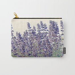 Lavender And Stone Carry-All Pouch