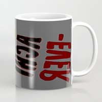 u2 Mugs featuring o-u2 by gasponce