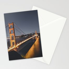 Golden Gate Glowing Stationery Cards