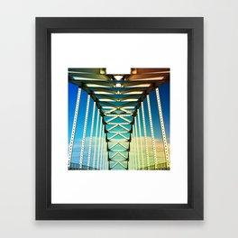 Spine Framed Art Print