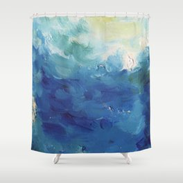 From Below v.1 Shower Curtain