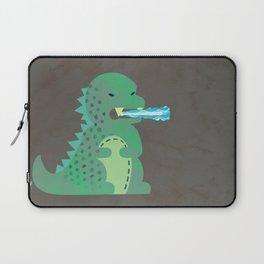 Baby Godzilla Breathing Fire Laptop Sleeve