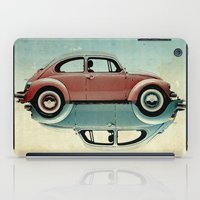 ying yang iPad Cases featuring vw  ying and yang by Vin Zzep