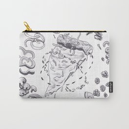 Pizza Art Mandala Carry-All Pouch