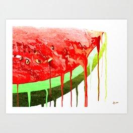 Melon Art Print