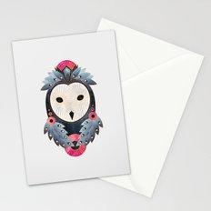 Owl 1 - Light Stationery Cards