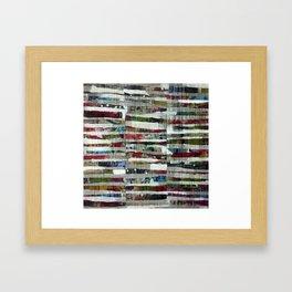Strata I Framed Art Print