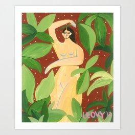 Jungle Dance Art Print