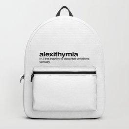 alexithymia Backpack
