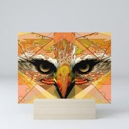 Eagle Eyes Mini Art Print