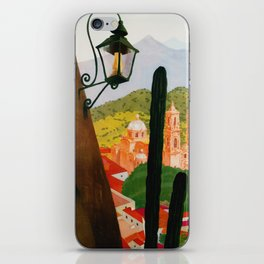 Vintage Tasco Mexico Travel iPhone Skin