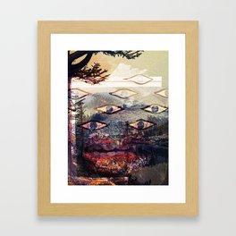 Love Park Framed Art Print
