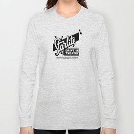 Starlite Drive In Red Long Sleeve T-shirt