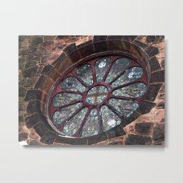 Castle Window, Berkshires Metal Print