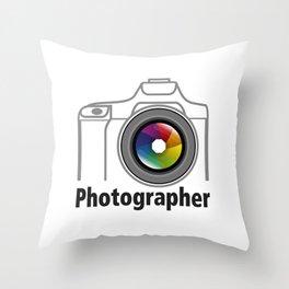 Photographer Community Throw Pillow