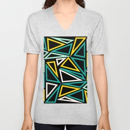 Triangles V1 Unisex V-Neck