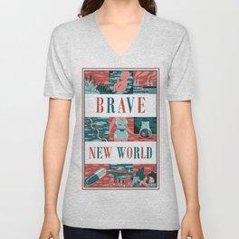 Brave New World Unisex V-Neck