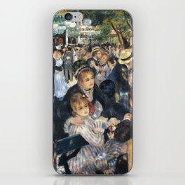 Dance at Le Moulin de la Galette by Renoir iPhone Skin