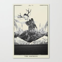 Fig. III - The Empress Canvas Print