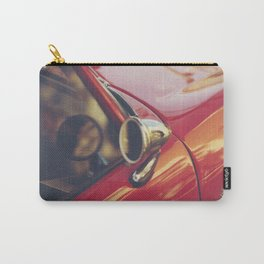 Red supercar photography, Triumph spitfire, original english car, classic sports auto Carry-All Pouch