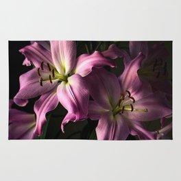 Dark Blossoms Rug