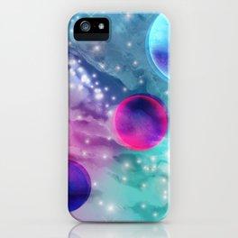 Vaporwave Pastel Space Mood iPhone Case