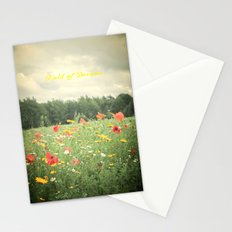 Field Of Dreams  Stationery Cards