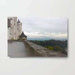 A view from Festung Hohensalzburg Castle Metal Print
