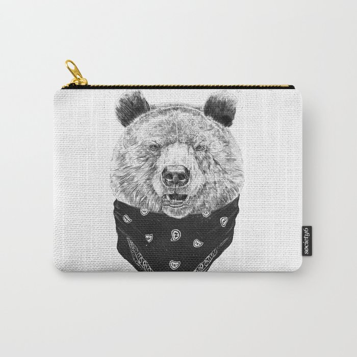 Wild bear Carry-All Pouch