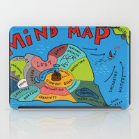 uncharted iPad Cases featuring Uncharted Waters by miumau